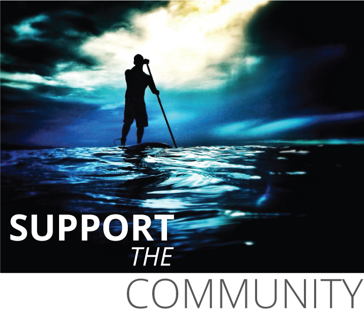 SUP Paddler Join the Movement