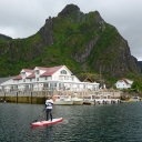 SUP Lofoten - north of the Arctic Circle