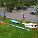 Oslo city SUPing