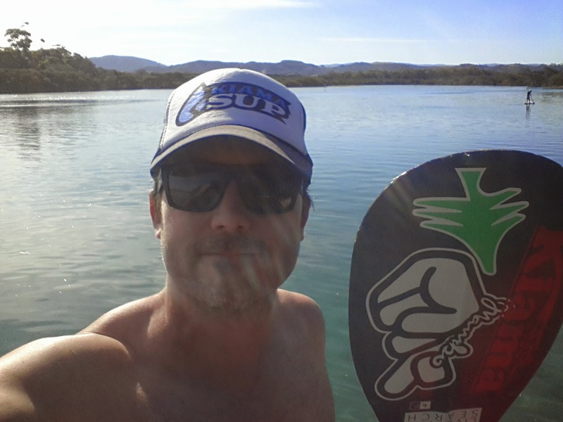 I get out on Minnamurra River in all conditions but when it's high tide, glass love and 26 degrees...its the biznuss!!!