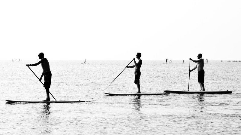 Taken at the National Watersports Festival 2014 at Hayling Island, UK