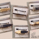 SUP BOARDS MINIATURES (RECLAIMED WOOD)<br />BOARDS: 11'in , 10'6in<br />FRAME: 8X11