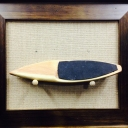 SUP BOARDS MINIATURES (RECLAIMED WOOD)<br />BOARDS : 11'in , 10'6 in<br />FRAME: 8X11