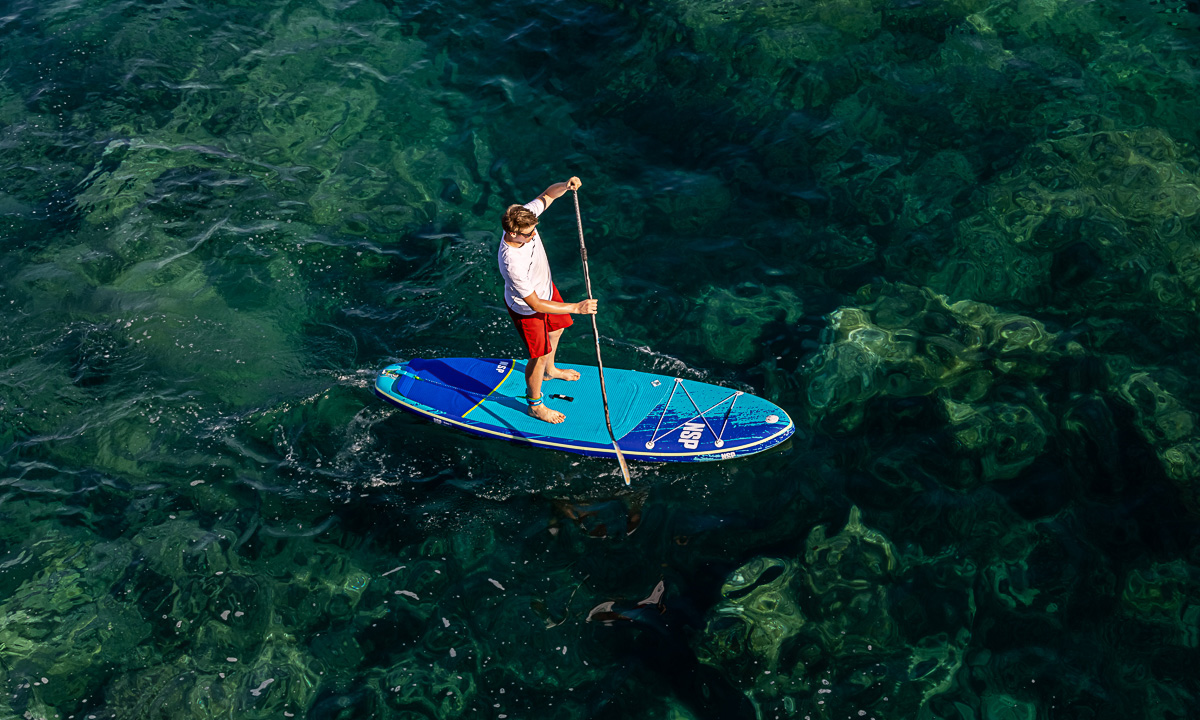paddle boarding summer destination