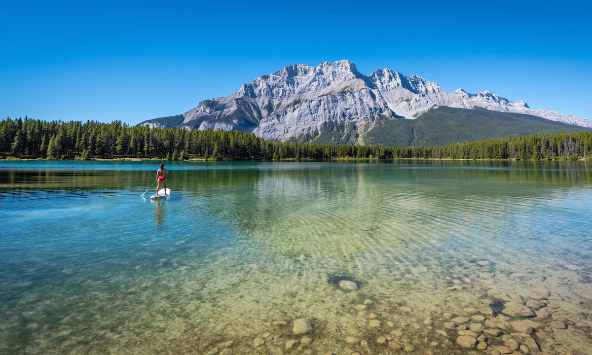 7 sup wonders of the world two jack lake banff