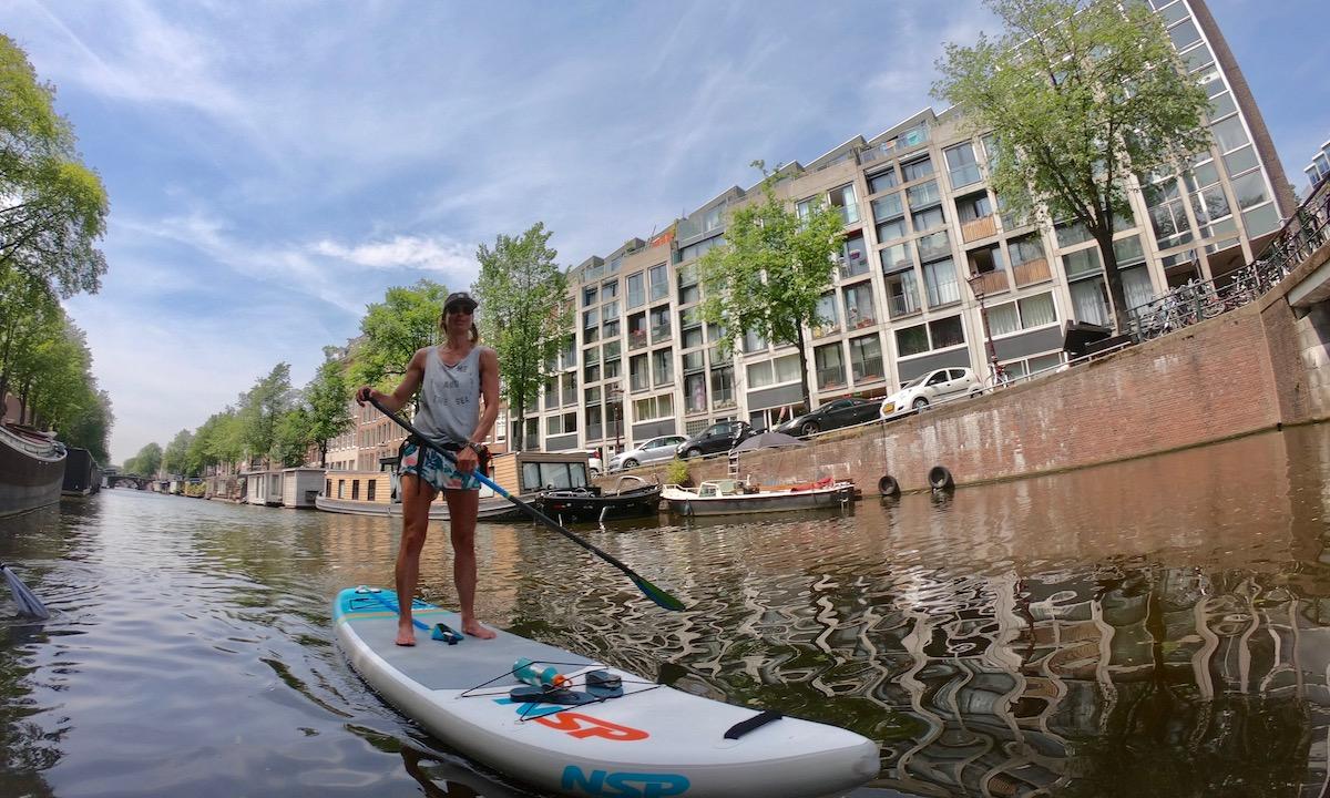 paddleboarding amsterdam morene dekker