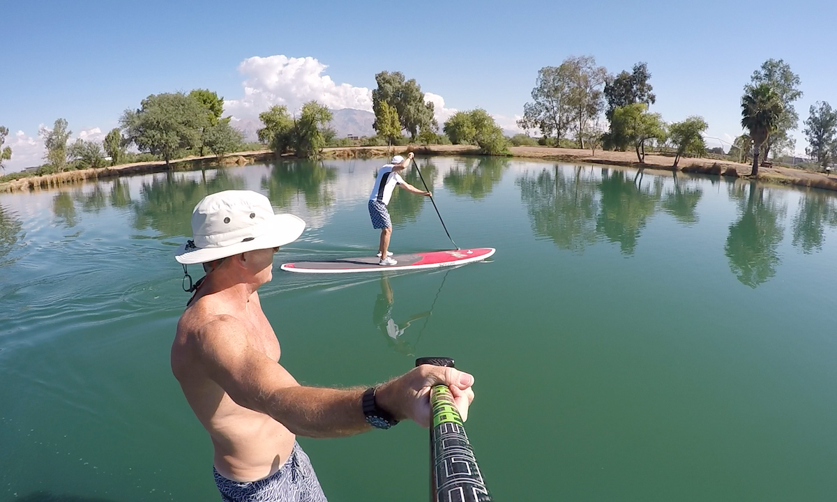 paddle boarding baja arizona silverbell