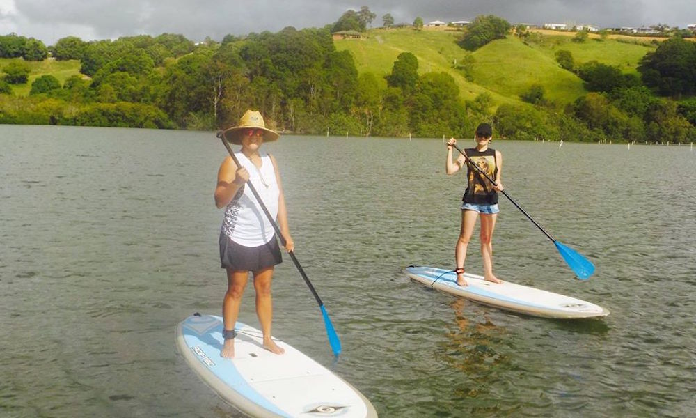 gold coast sup Tweed River Tour