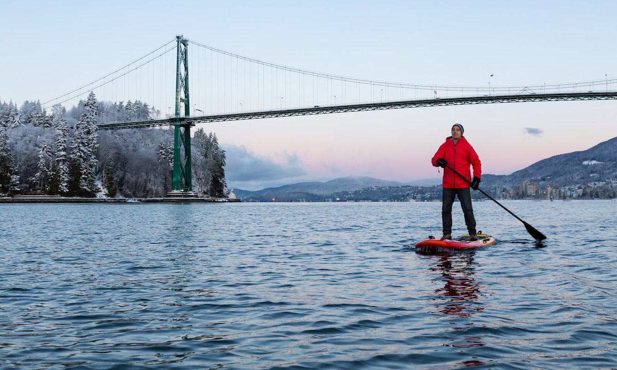 paddle boarding bc canda vancouver
