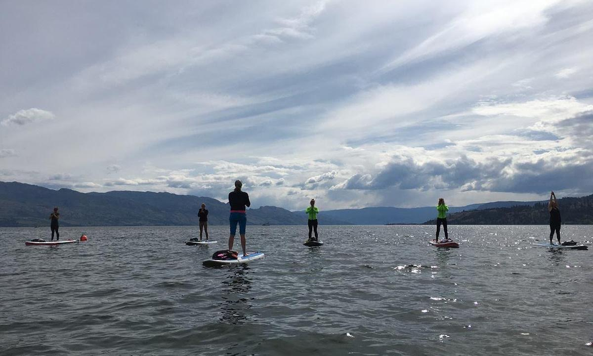 paddle boarding vancouver british columbia yoga