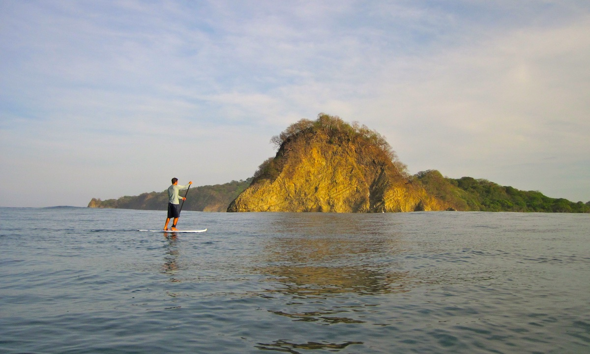 paddle boarding nosara costa rica 8