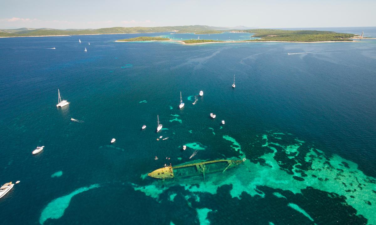 paddle boarding croatia Dugi Otok