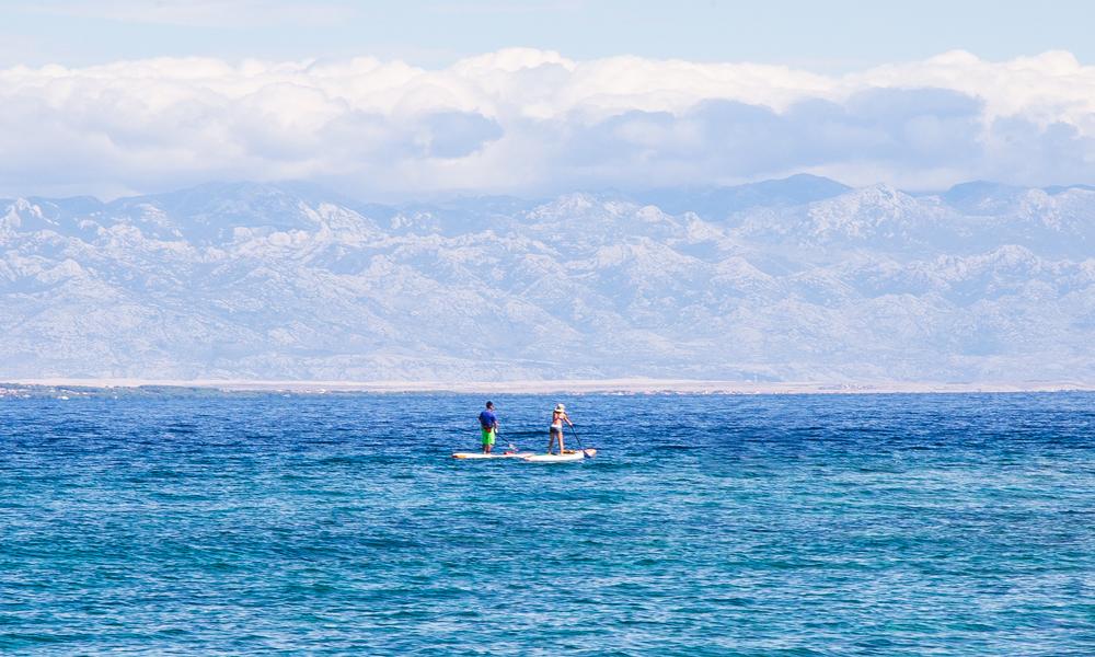 paddle boarding croatia molat 2