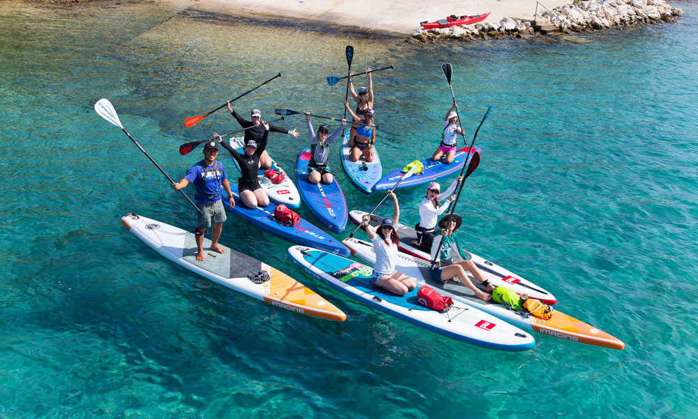 paddle boarding croatia molat brgulje bay 2