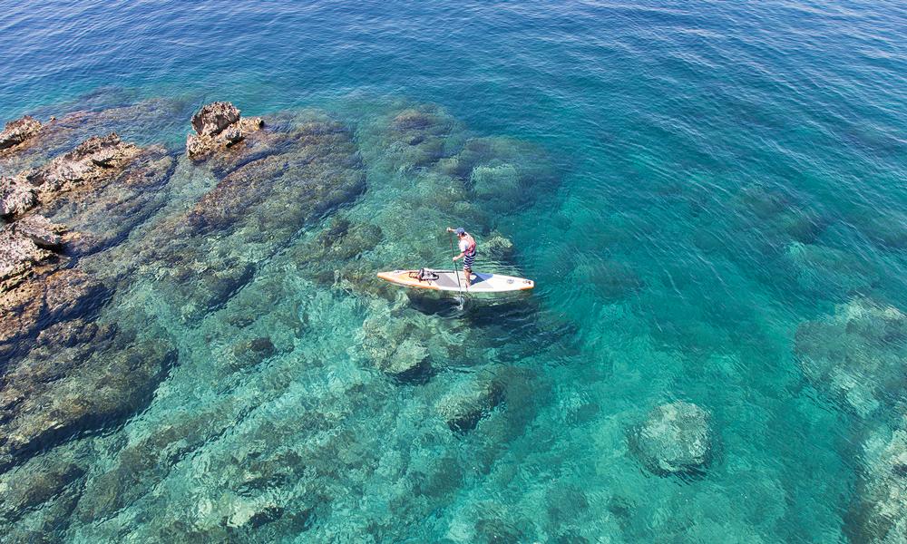 paddle boarding croatia molat
