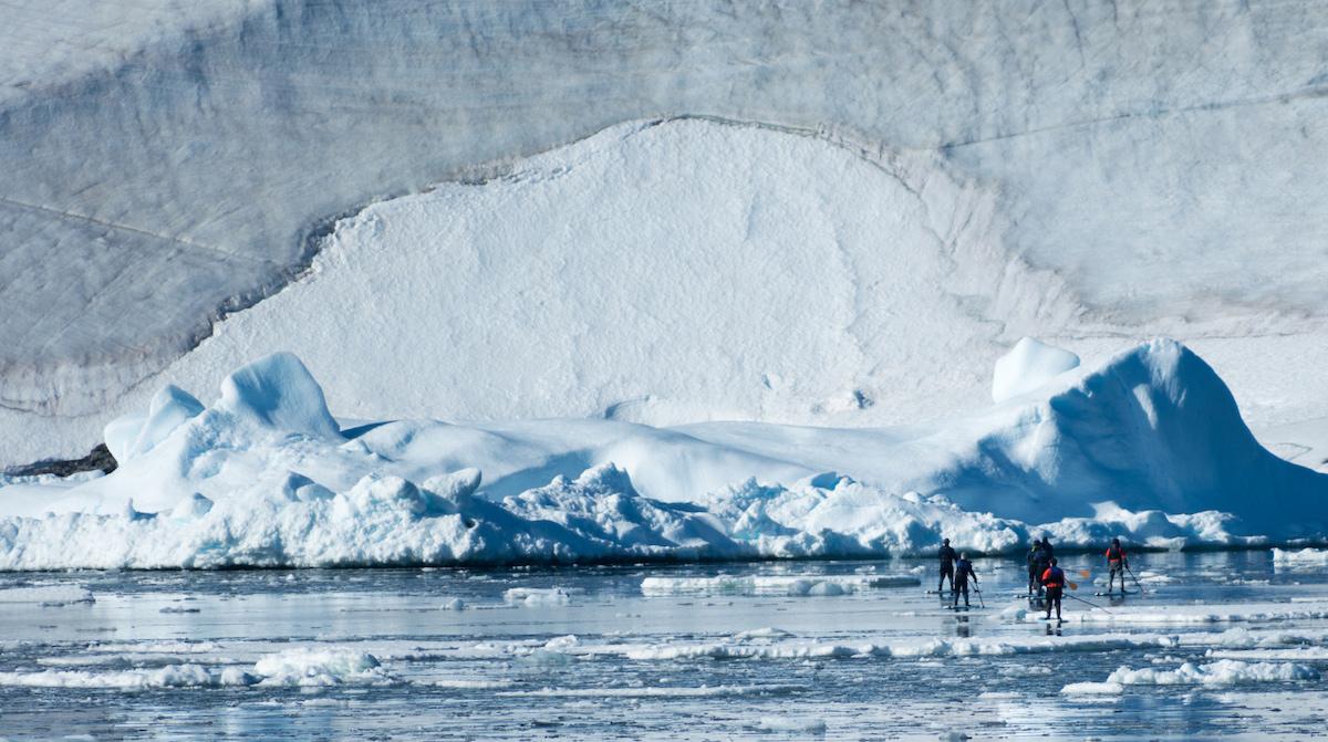 exotic sup destination antarctica