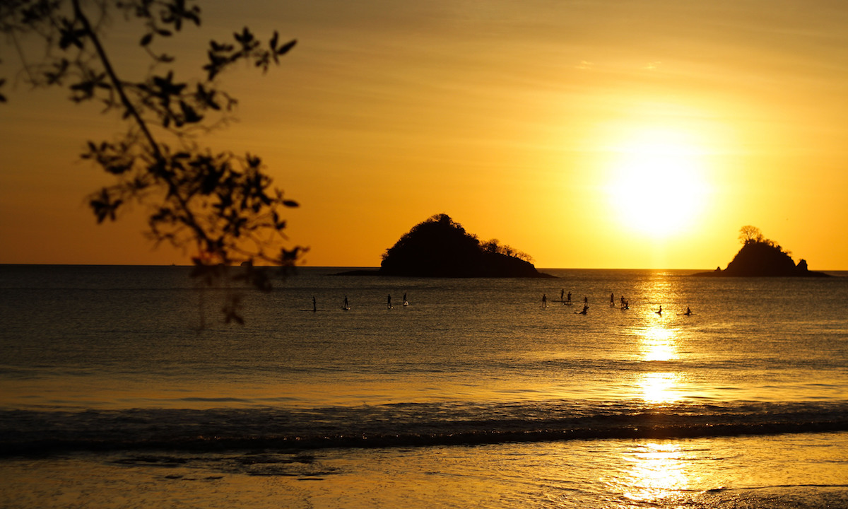 exotic sup destination costa rica