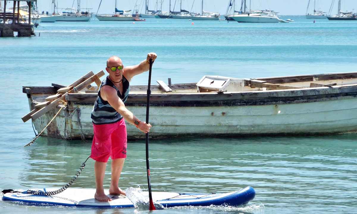 paddle boarding grenada wreck inspection fi plavenieks