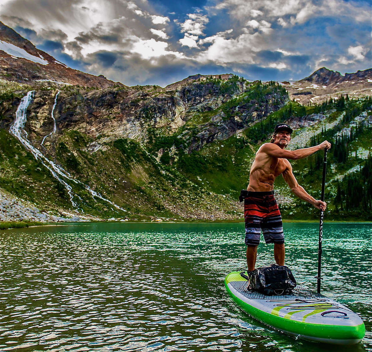 bodie shandro heli sup tour 2