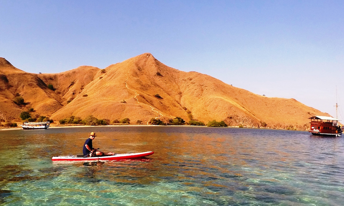 b sup wilderness adventures komodo expedition