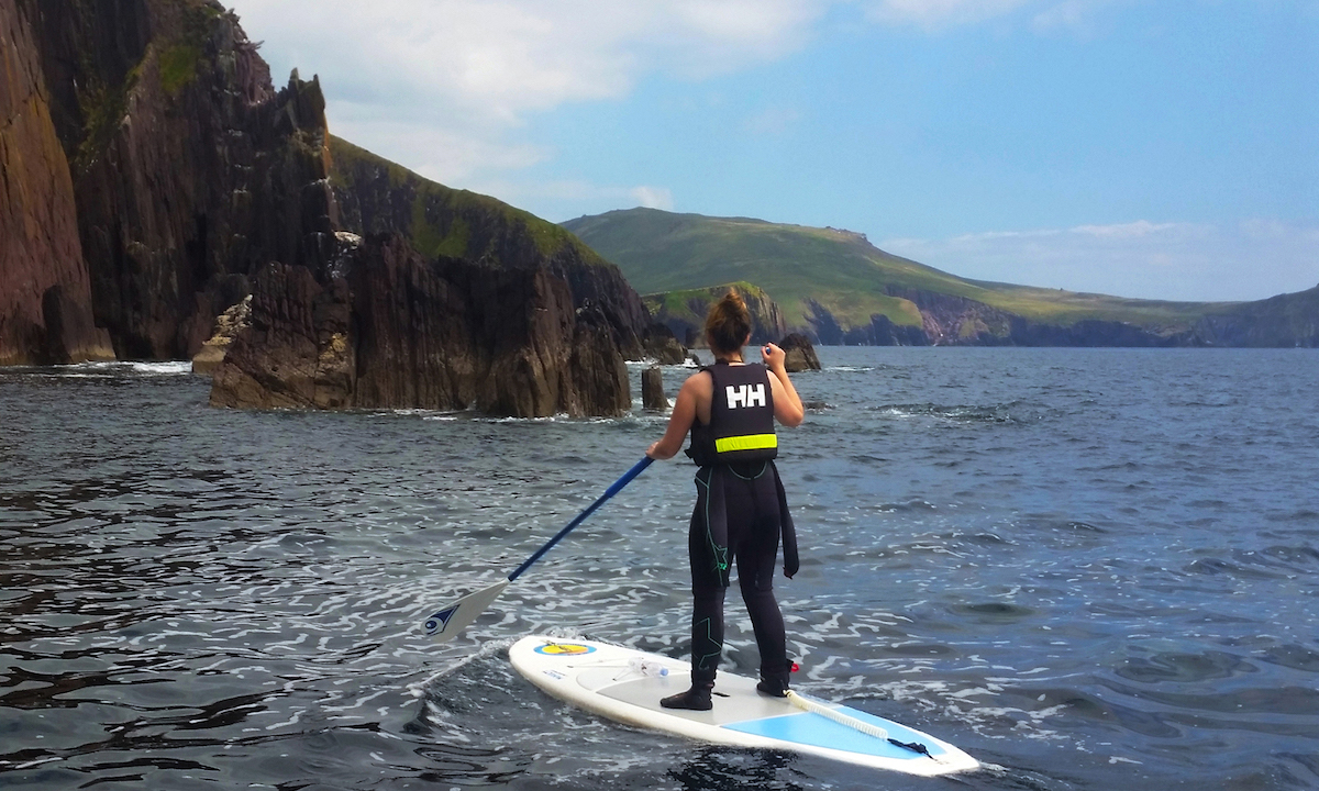 paddle boarding kerry ireland 13