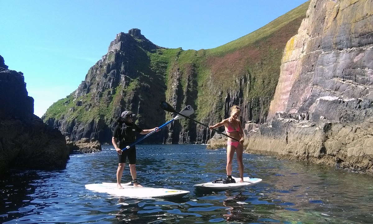 paddle boarding kerry ireland 14
