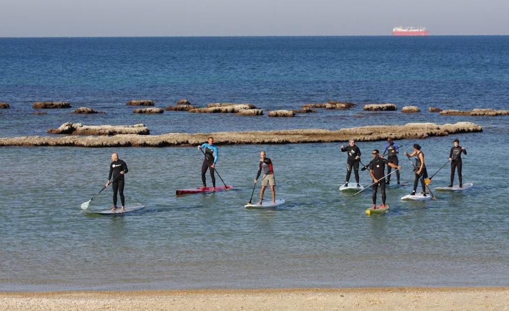 paddle boarding israel 2
