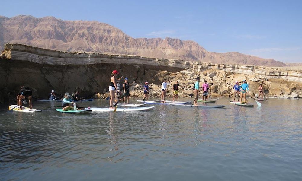 paddle boarding israel 4