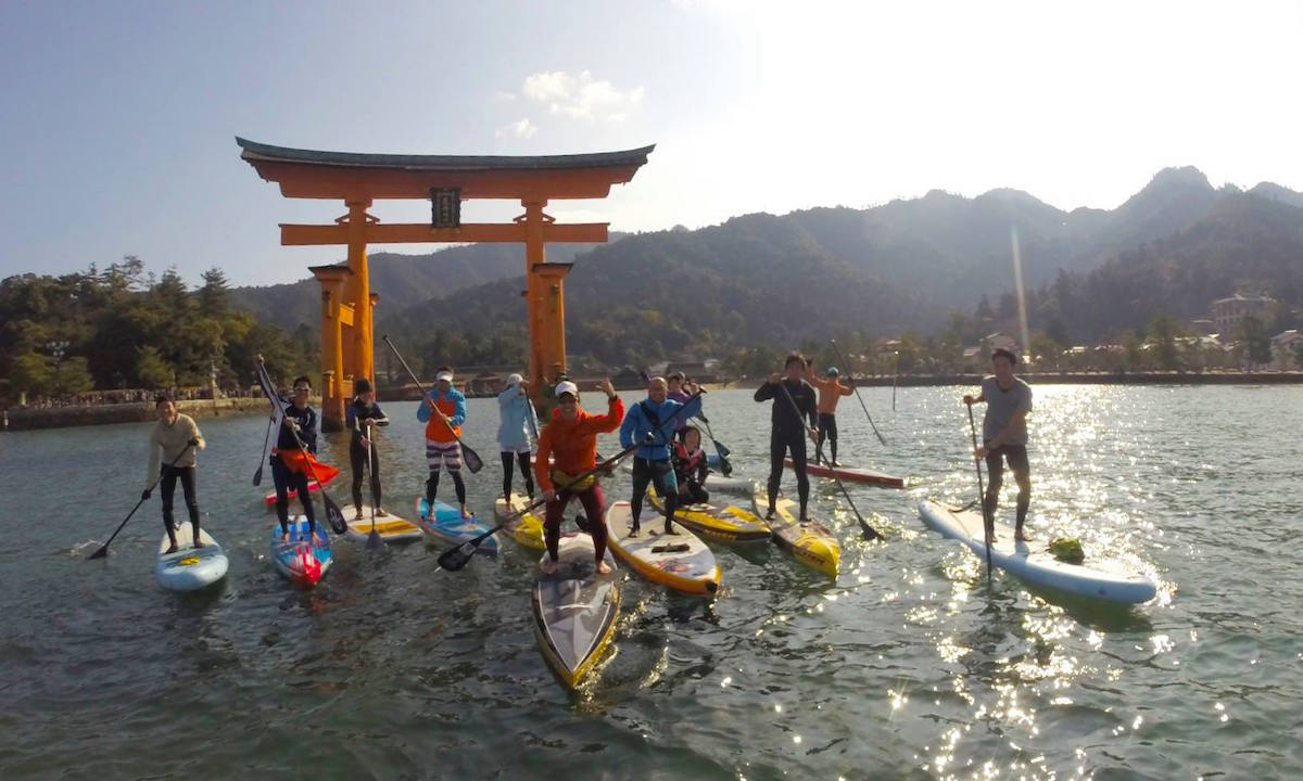 6 places to paddle japan miyajima 1