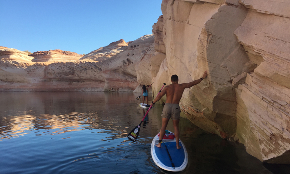 lake powell sup antelope canyon