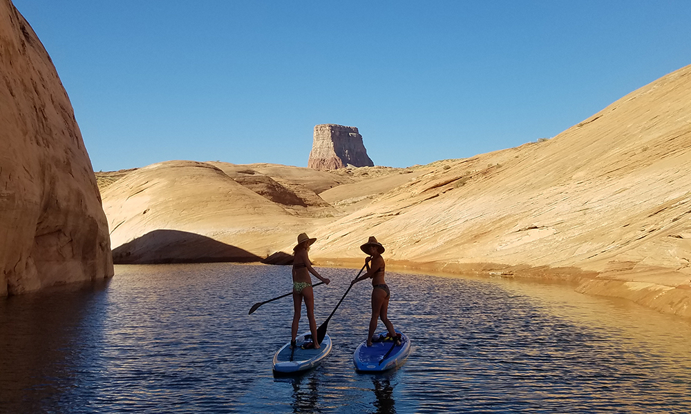 lake powell sup labyrinth canyon 1