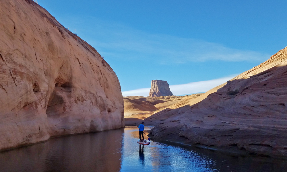 lake powell sup labyrinth