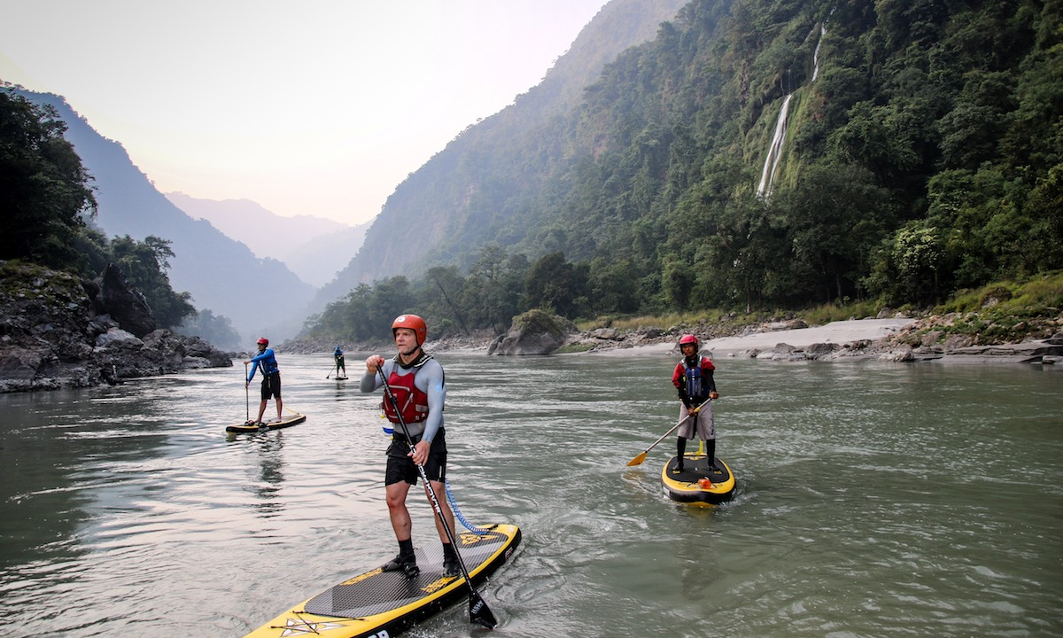 supconnect paddle boarding nepal 3