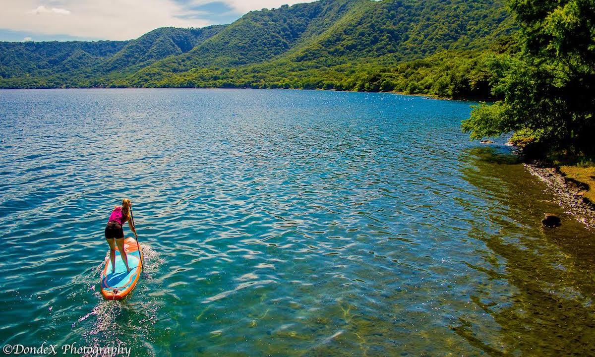 sup travel nicaragua laguna apoyo