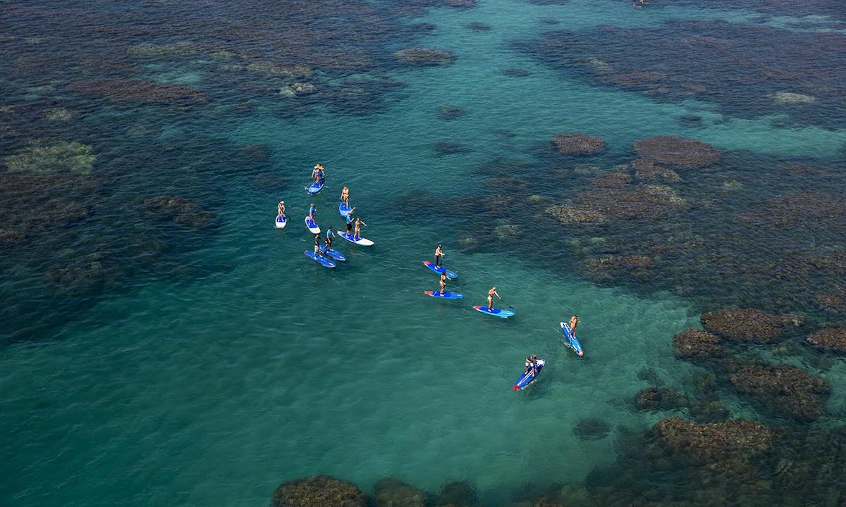 places to paddle board travel 2018 maui