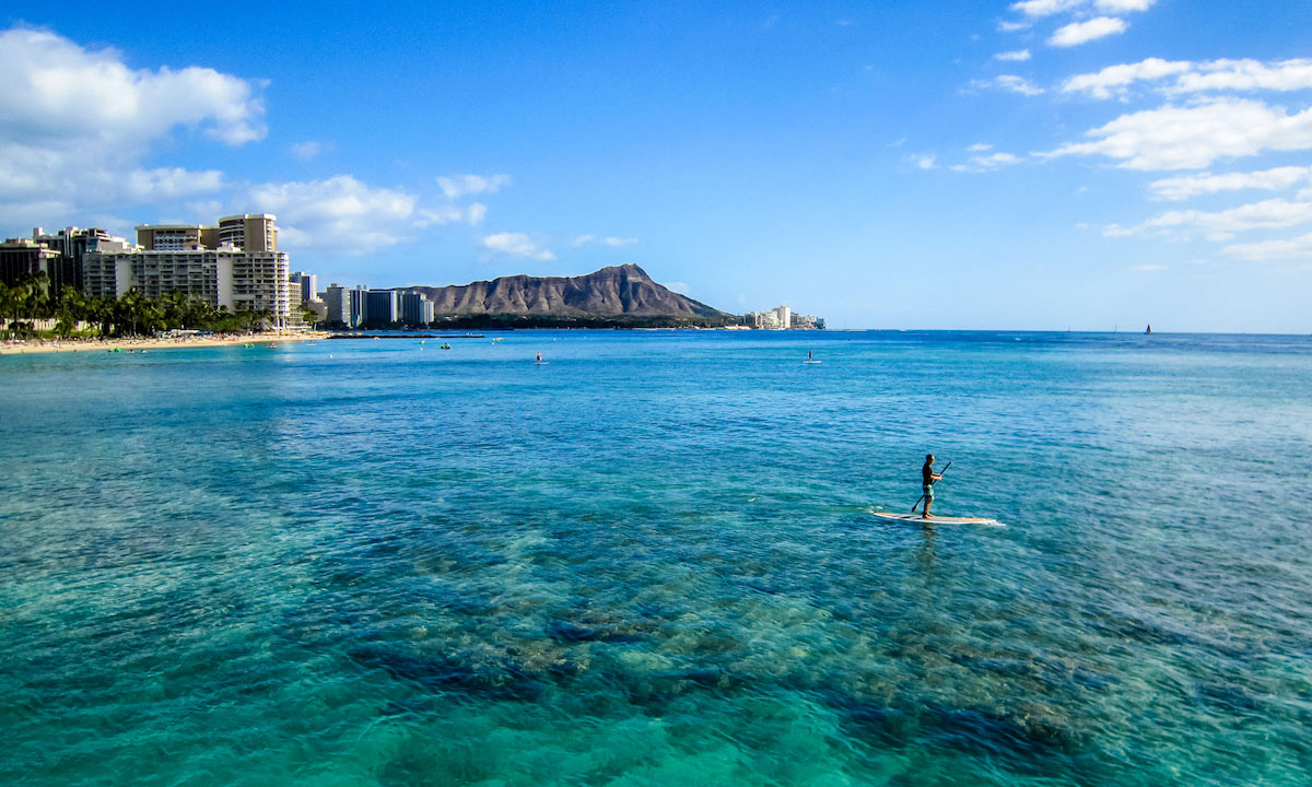 places to paddle board travel 2018 oahu