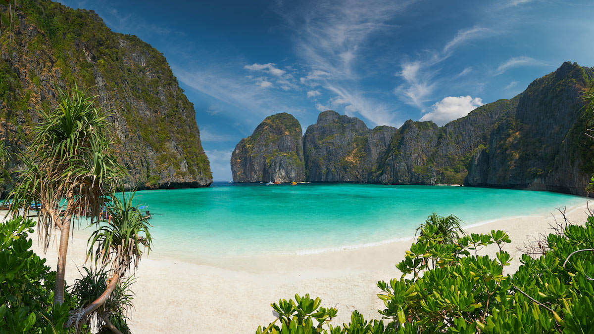 places to paddle board travel 2018 phi phi thailand
