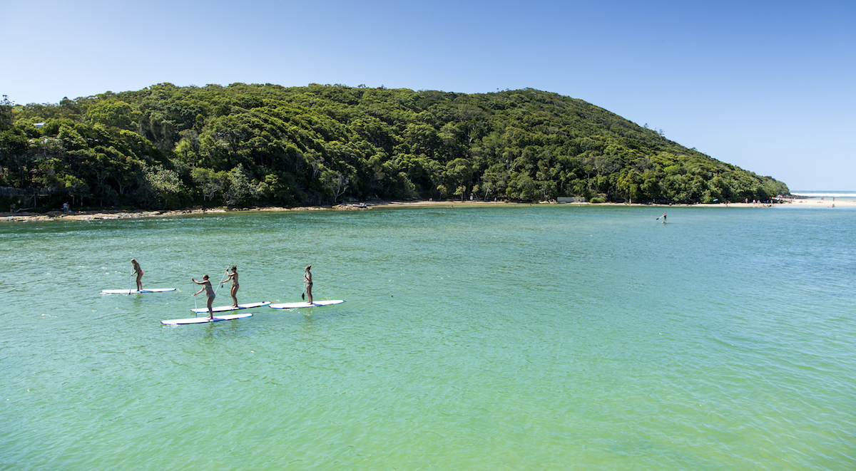 places to paddle board travel 2018 tallebudgera creek queensland australia