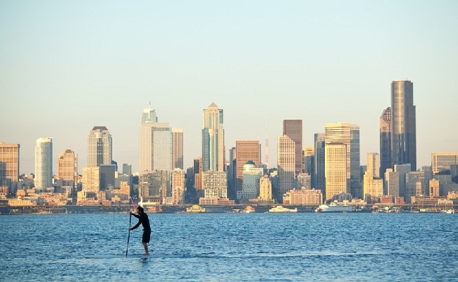 Stand Up Paddle Board Puget Sound, Seattle
