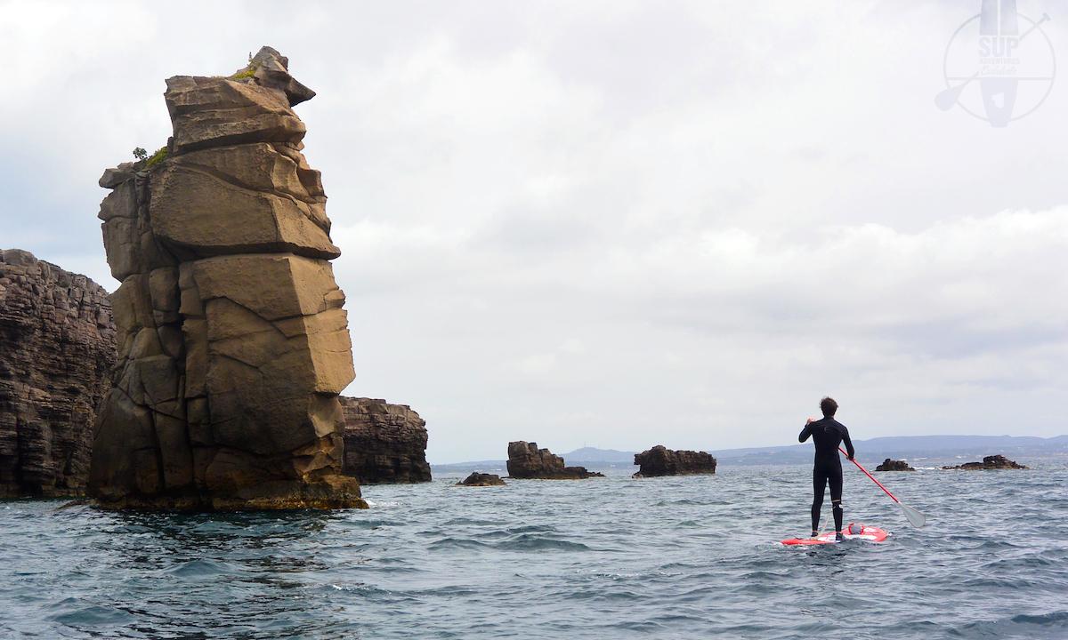 paddle boarding san pietro island italy 4