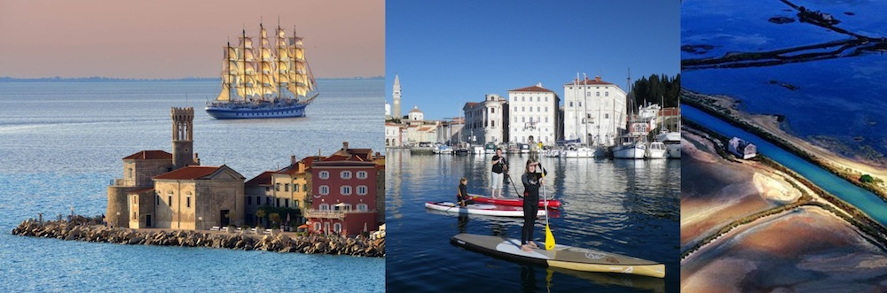 slovenia paddle boarding destination adriatic coast