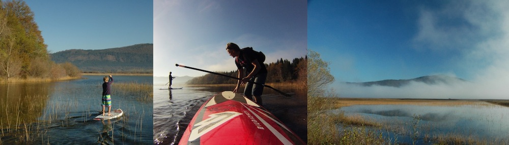 slovenia paddle boarding destination cerknica lake