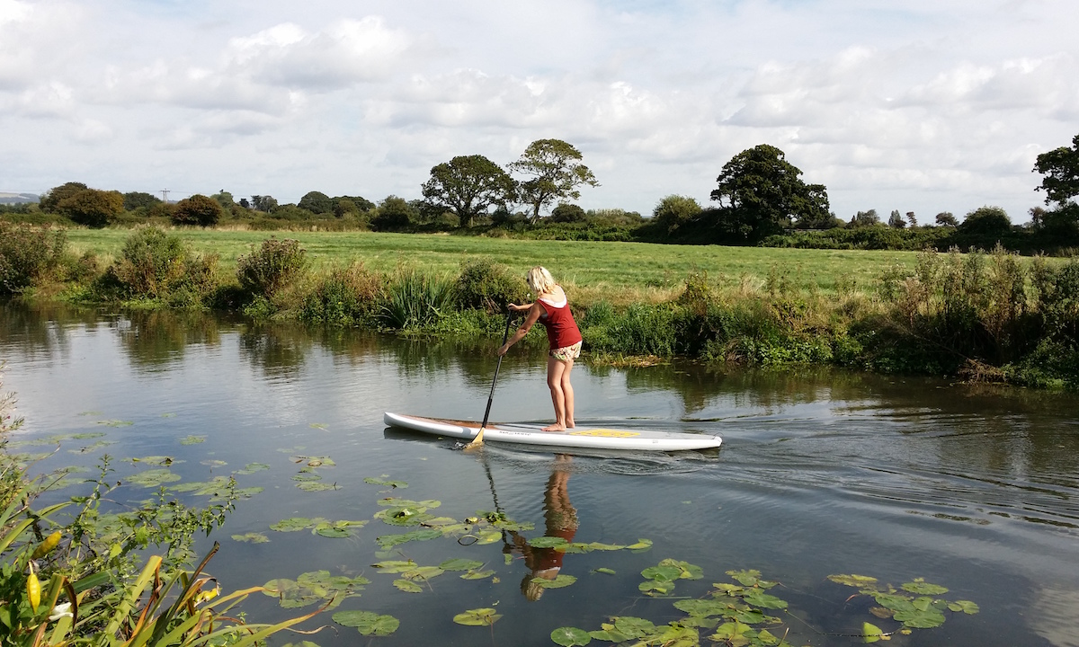 uk sup guide inland paddling