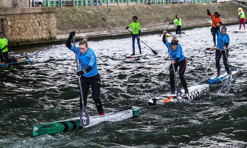 paris sup open 2018 women race