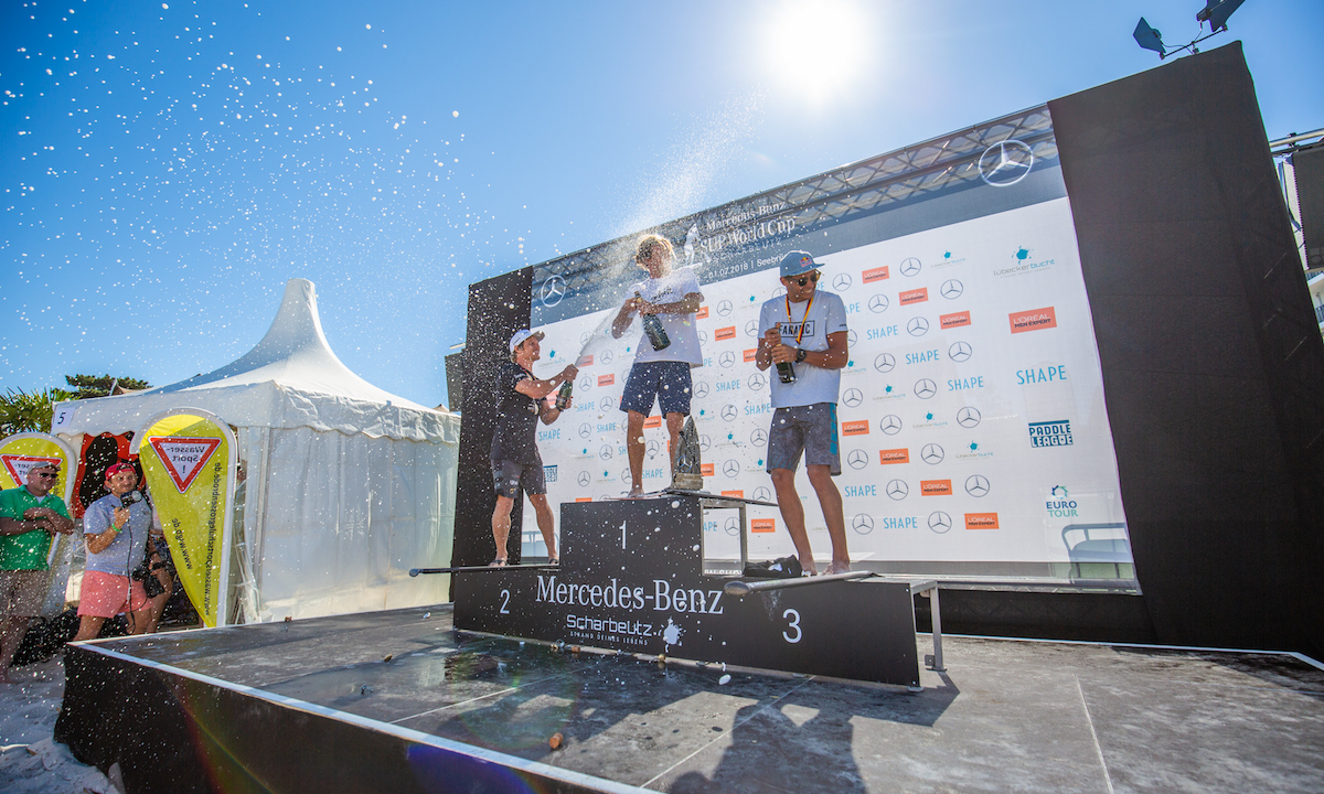 paddle league scharbeautz 2018 men podium