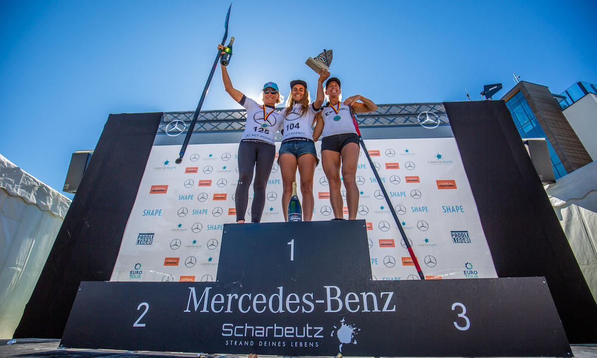 paddle league scharbeautz 2018 women podium