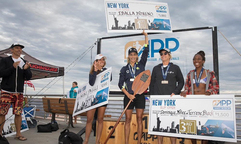 2018 ny sup open women podium
