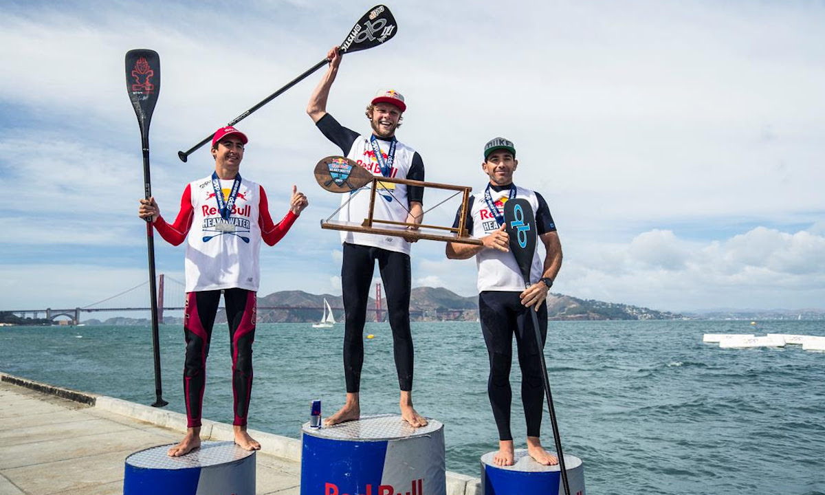 red bull heavy water 2017 podium