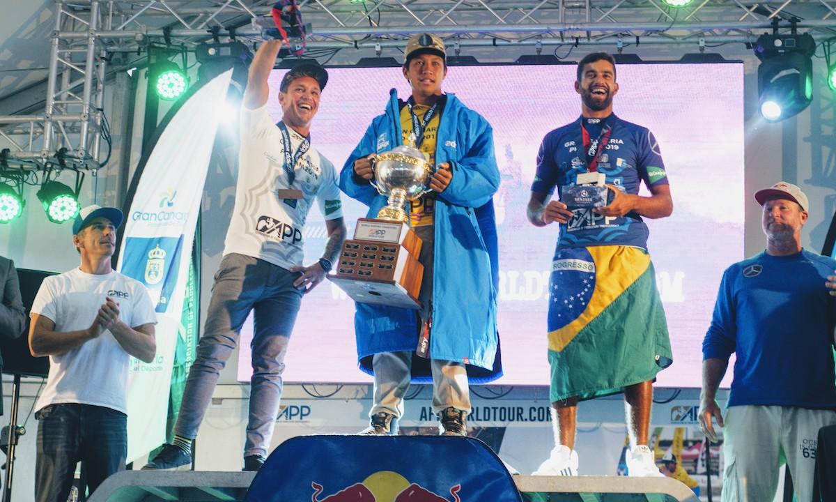app gran canaria 2019 men podium