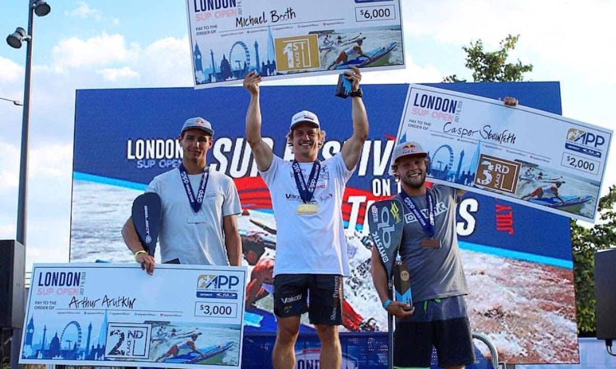 london sup open 2018 men podium